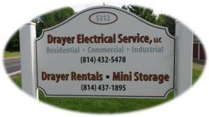 Drayer Sign