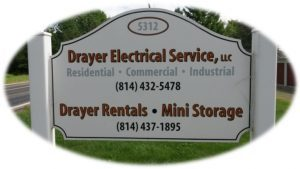 Drayer Electrical Services, LLC And Drayer Mini Storage Are Located On The  Georgetown Road Near Franklin, PA.